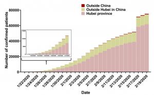 שיעור הדבקה בחוביי, סין מחוץ לסין